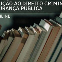 Educação a distância de Introdução ao Direito Criminal e a Segurança Pública